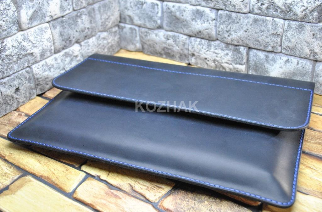 Чехол для ноутбука 13 дюймов из натуральной кожи crazy horse