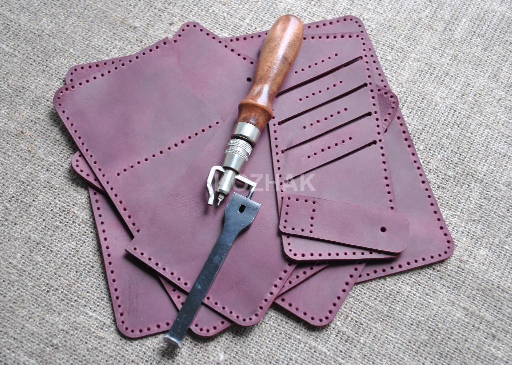 Красивый портмоне из натуральной кожи