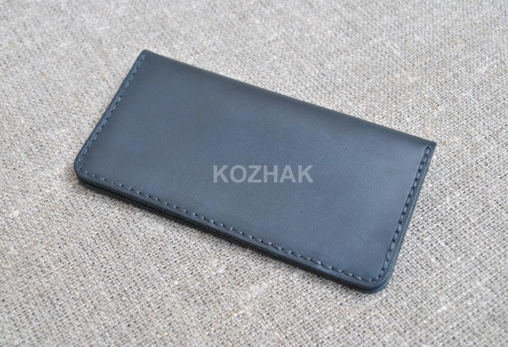 Чехол для мобильного телефона из кожи ручной работы