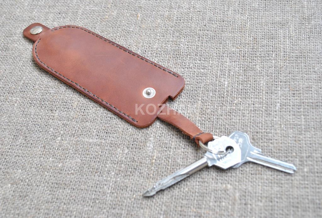 Ключница из натуральной кожи ручной работы