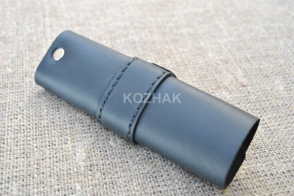 Ключница-свиток из кожи ручной работы