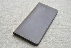 Большой вместительный портмоне из натуральной кожи