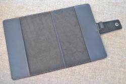 Обложка для блокнота или органайзера из натуральной кожи
