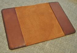 Обложка для небольшого блокнота  из натуральной кожи