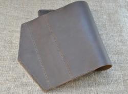 Качественная обложка для блокнота из натуральной кожи