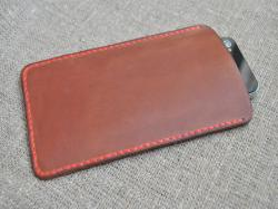 Чехол-футляр для смартфона из натуральной кожи