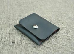Небольшой кошелек для монет из натуральной кожи