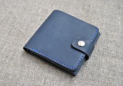 Небольшой стильный кошелек из натуральной кожи