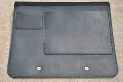Кожаная папка для бумаг А4 формата
