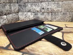 Универсальный чехол для телефона из натуральной кожи
