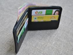 Карманный кошелек из натуральной кожи