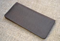Большой кошелек из натуральной кожи Krazy Horse